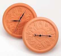 Terracotta Clock
